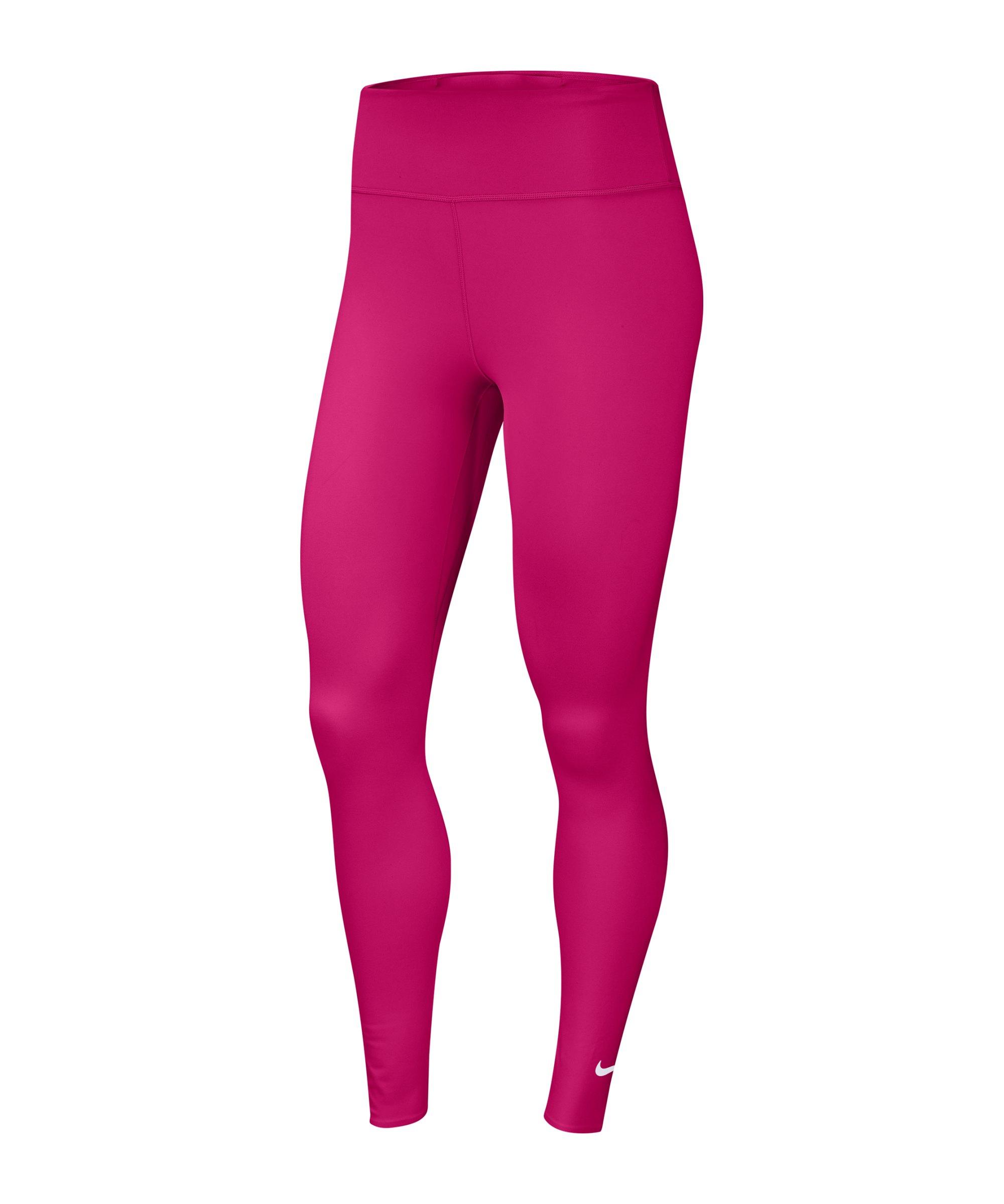 Nike One Luxe Leggings Running Damen Pink F616 - pink