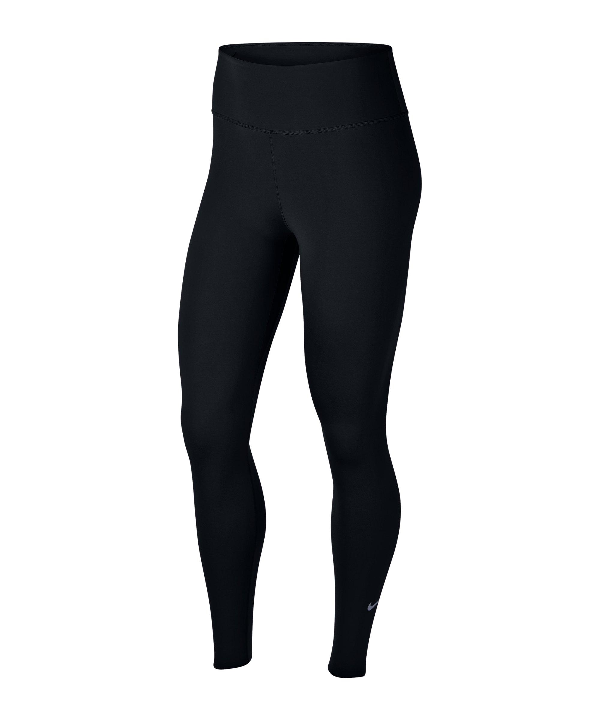 Nike One Luxe Leggings Running Damen Schwarz F010 - schwarz