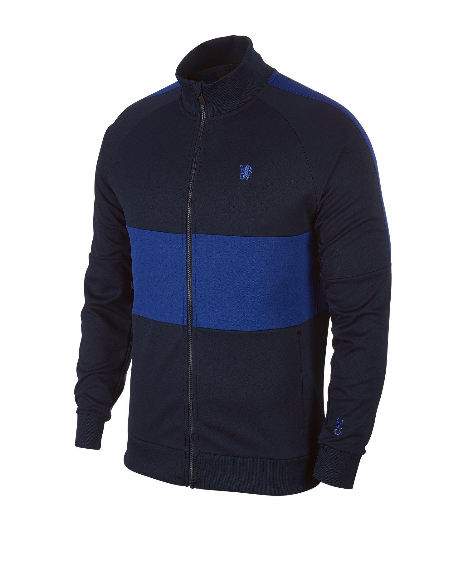 Nike FC Chelsea London I96 UNX Jacke F451 - blau