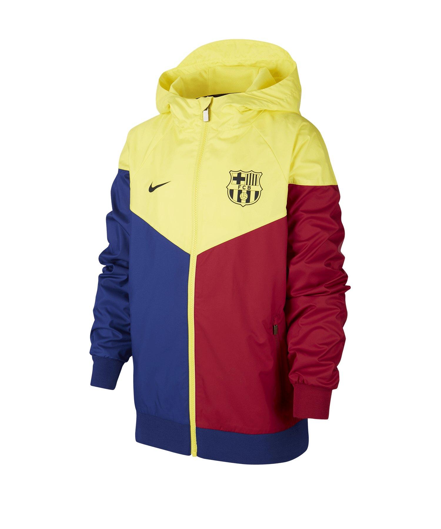 Nike FC Barcelona Windrunner Jacke Kids F475 - blau