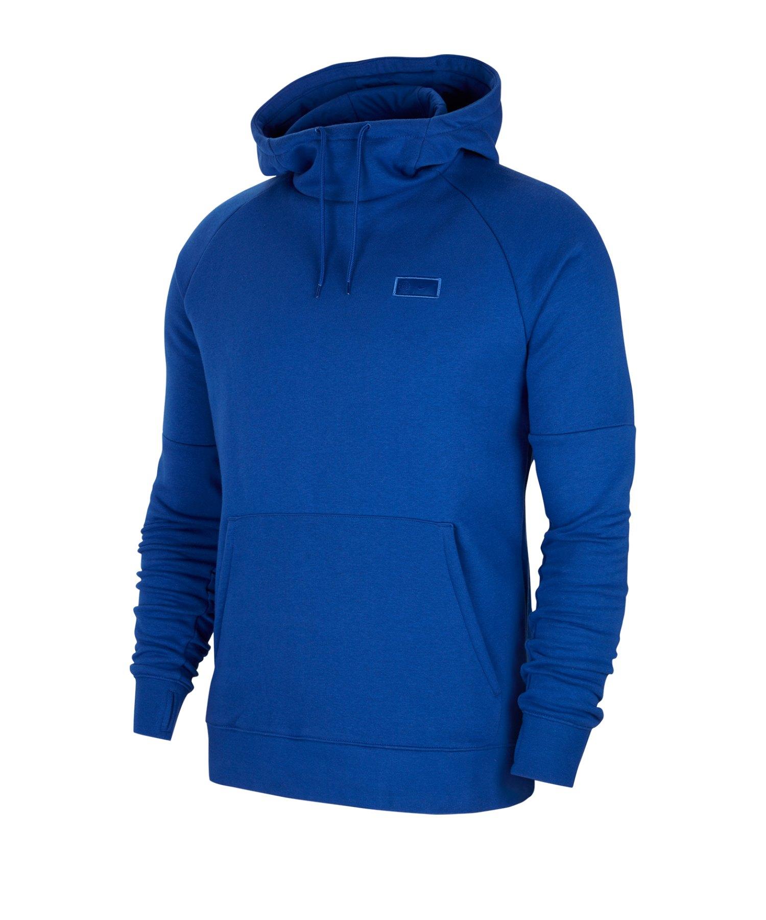 Nike FC Chelsea London Fleece Kapuzenpullover F495 - blau