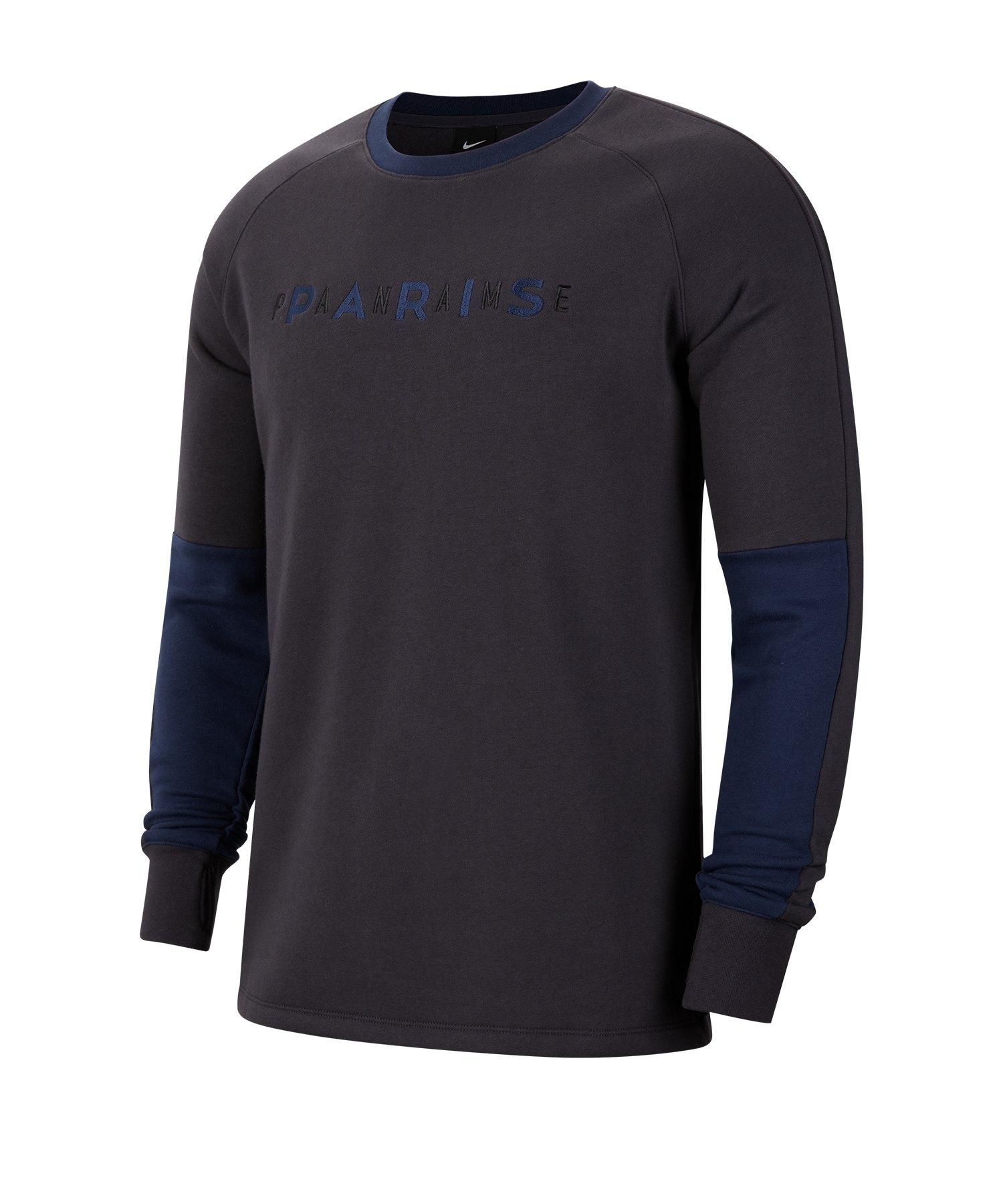 Nike Paris St. Germain Sweatshirt F080 - blau