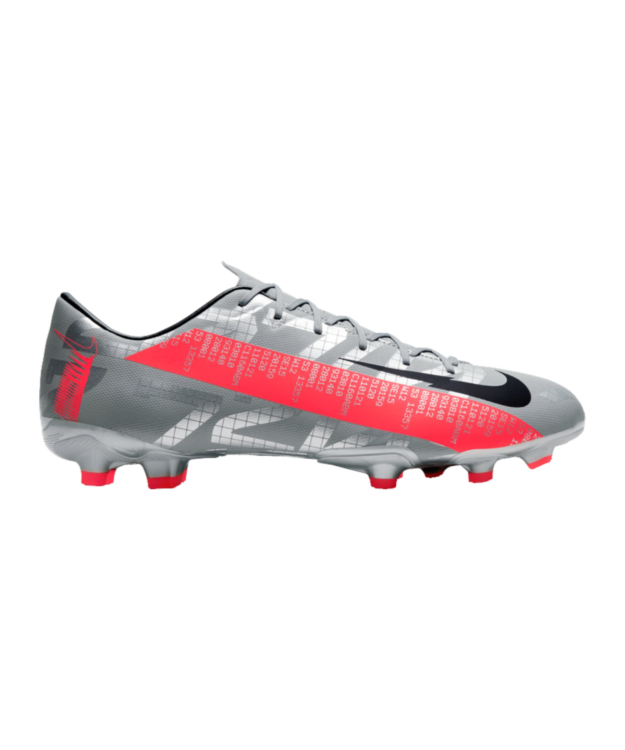 Nike Mercurial Vapor XIII Neighbourhood Academy FG/MG Grau F906 - grau