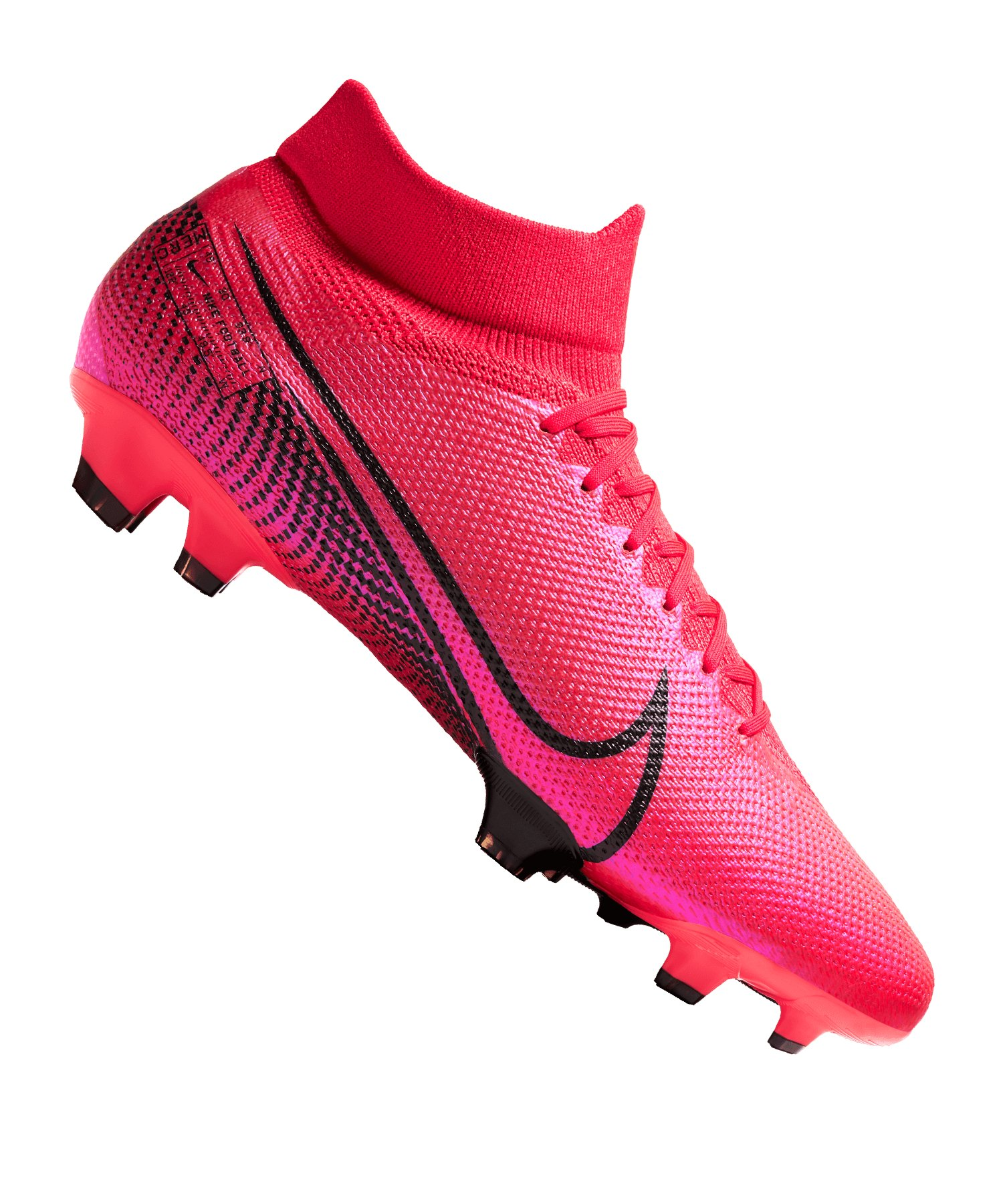 Nike Mercurial Superfly VII Pro FG Rot F606 - rot