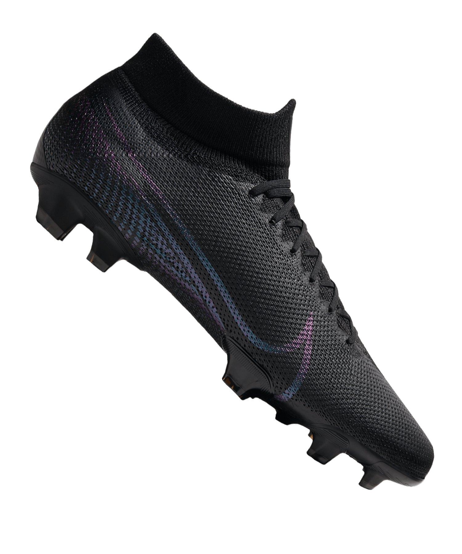 Nike Mercurial Superfly VII Pro FG Schwarz F010 - schwarz