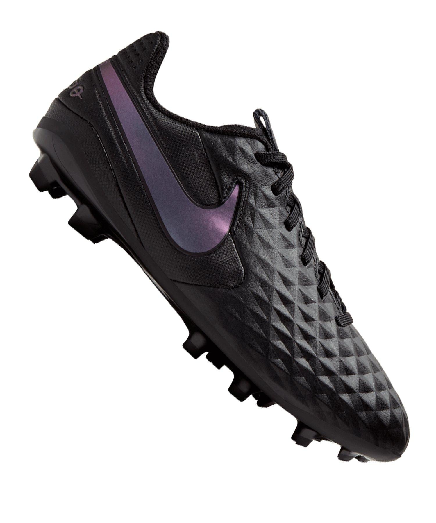 Nike Jr Tiempo Legend VIII Academy FG/MG Kids F010 - schwarz