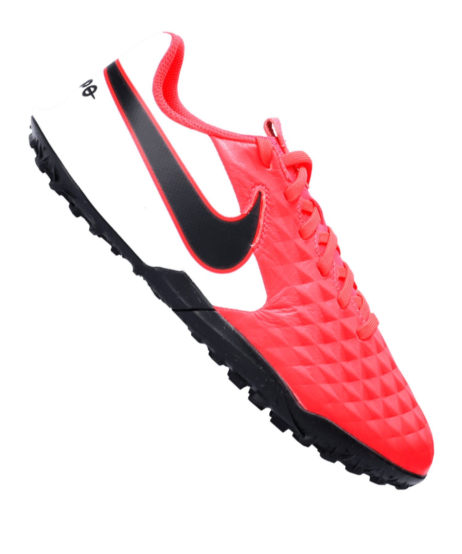 Nike Jr Tiempo Legend VIII Academy TF Kids F606 - rot