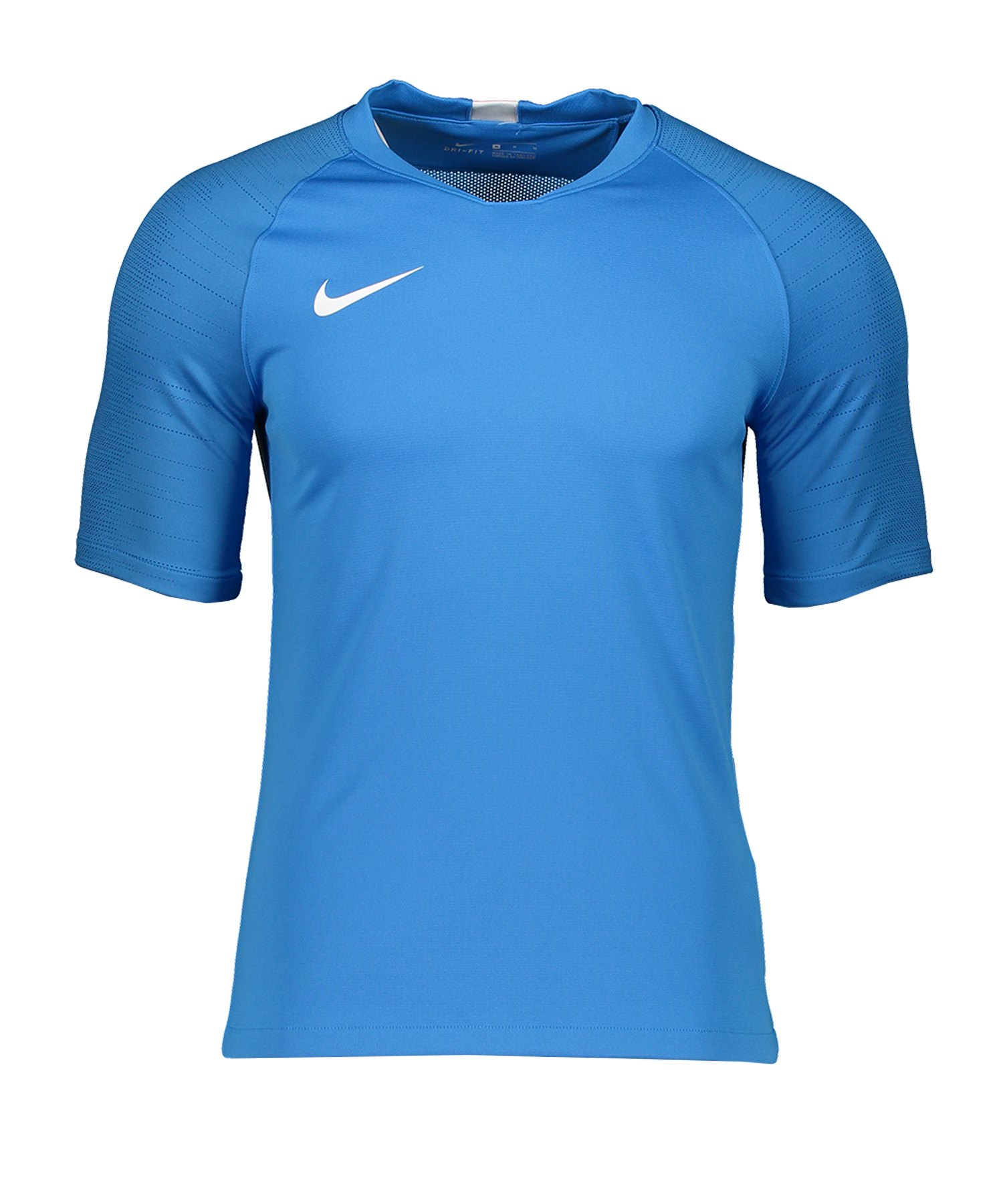 Nike Dri-FIT Breathe Strike Trainingsshirt F435 - blau