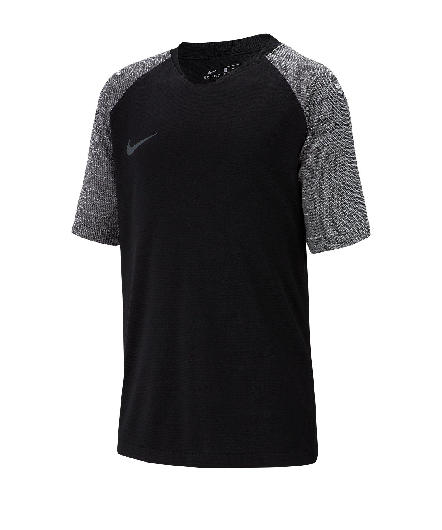 Nike Dri-FIT Breathe Strike T-Shirt Kids F010 - schwarz