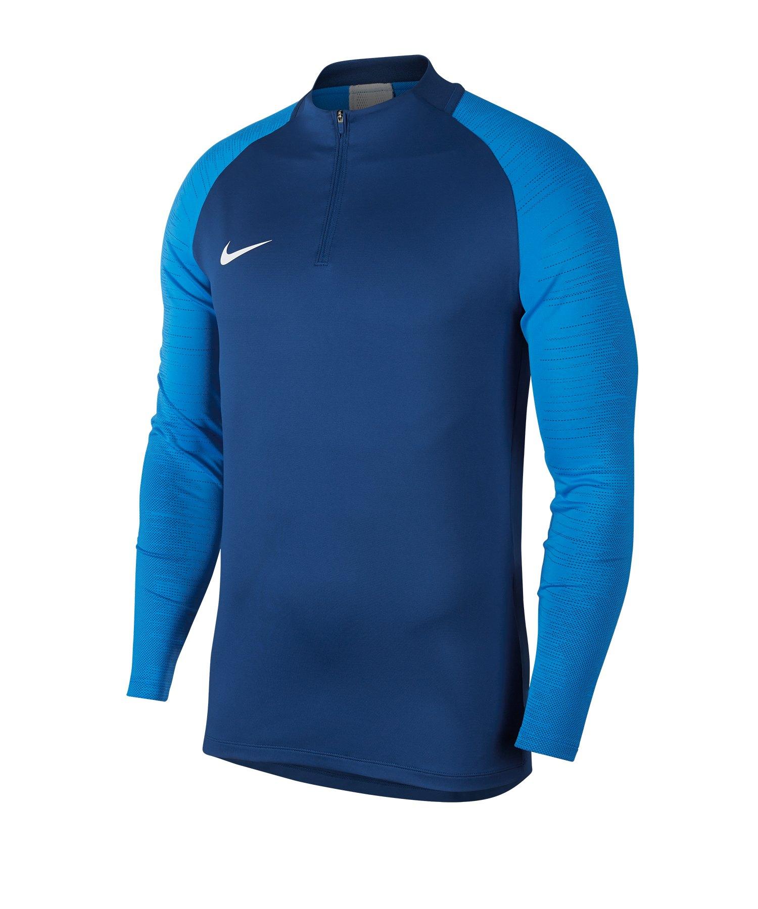 Nike Dri-FIT Strike 1/4 Zip Drill Top Blau F435 - blau