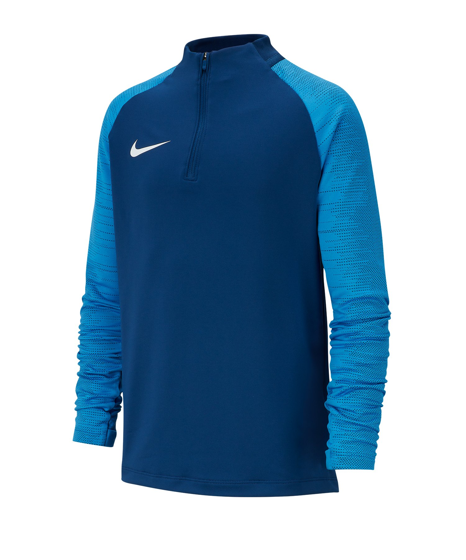 Nike Dri-FIT Strike 1/4 Zip Drill Top Kids F435 - blau
