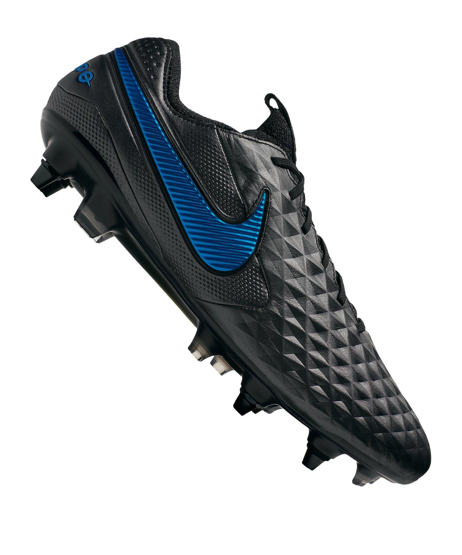 Nike Tiempo Legend VIII Elite SG-Pro AC F004 - schwarz