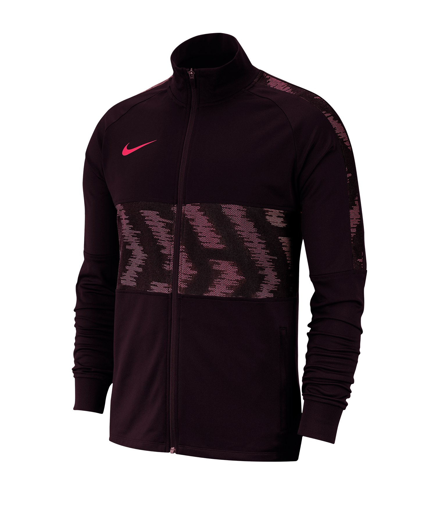Nike Dri-FIT Strike Trainingsjacke Rot F659 - rot