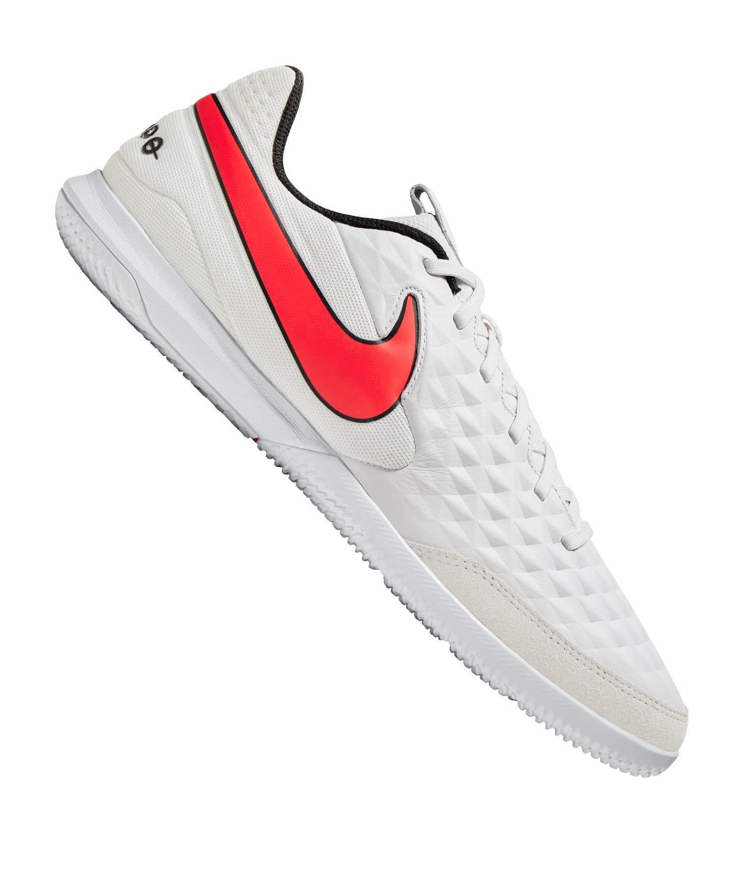 Nike Tiempo Legend VIII Academy IC Grau Rot F061 - grau