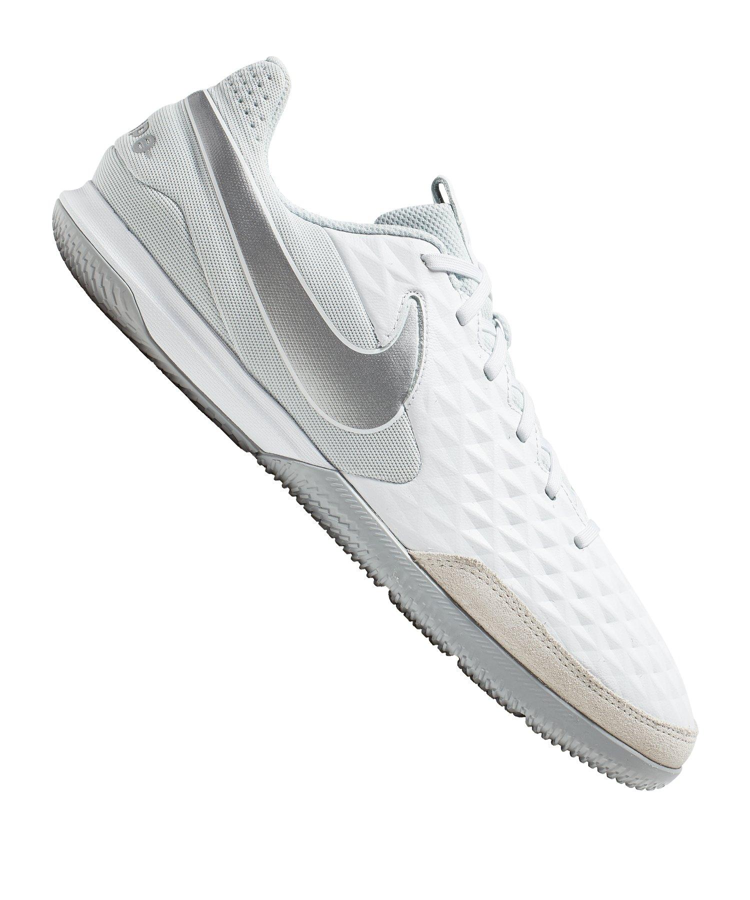 Nike Tiempo Legend VIII Academy IC Weiss F100 - weiss