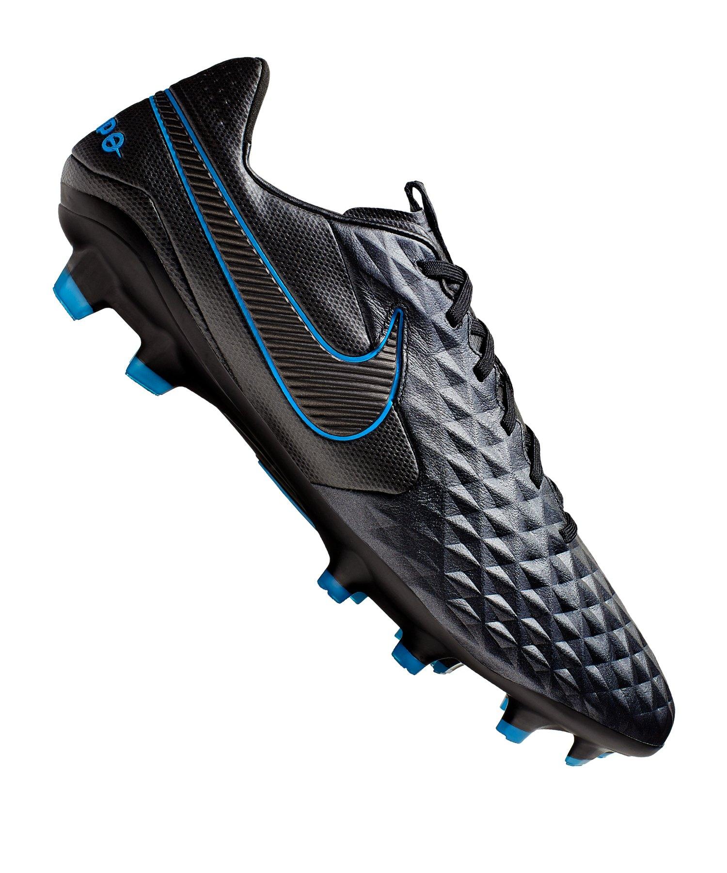 Nike Tiempo Legend VIII Pro FG Schwarz F004 - schwarz
