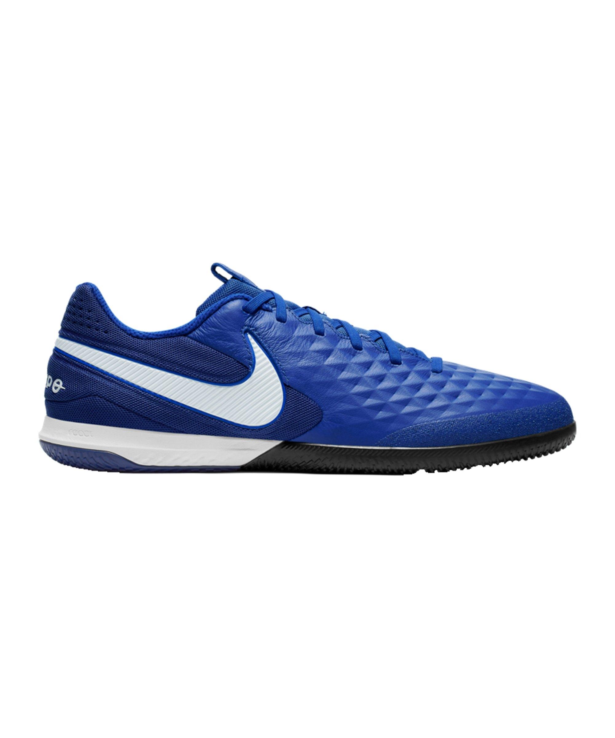 Nike Tiempo Legend VIII Pro React IC Blau F414 - blau