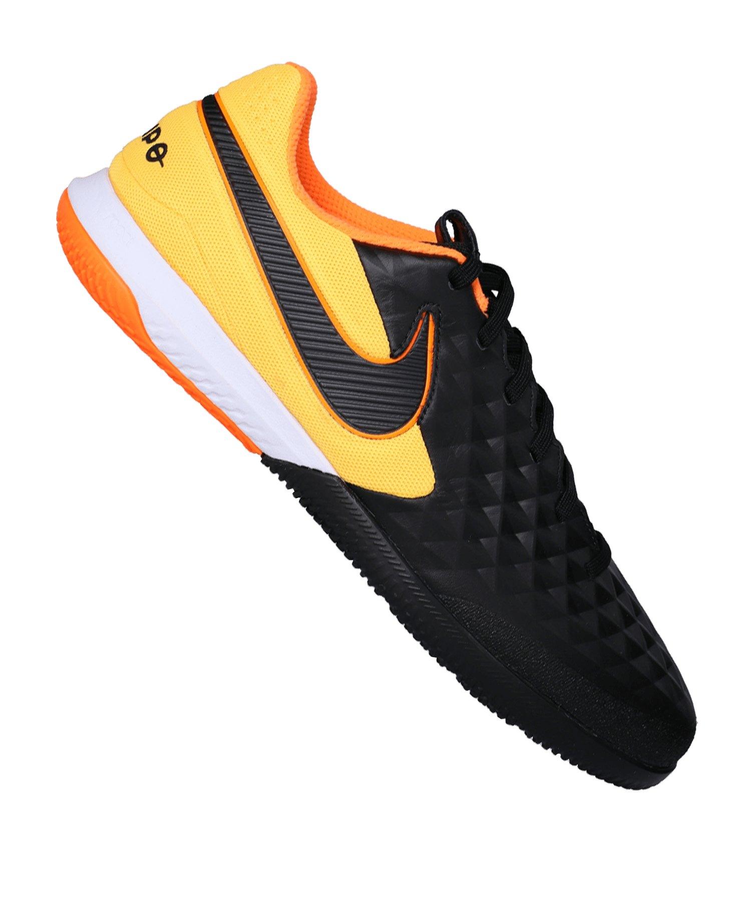 Nike Tiempo Legend VIII Pro React IC Schwarz F008 - schwarz