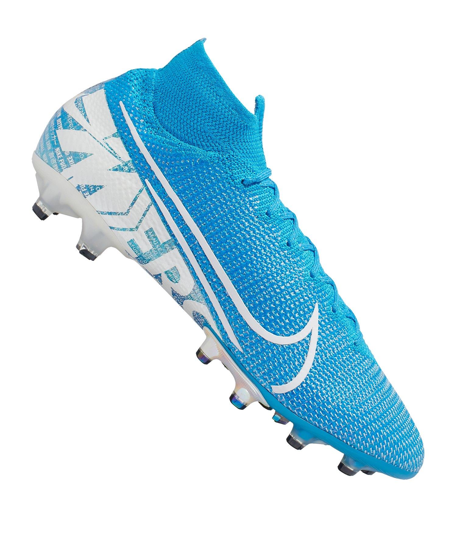 Nike Mercurial Superfly VII Elite AG-Pro Blau F414 - blau