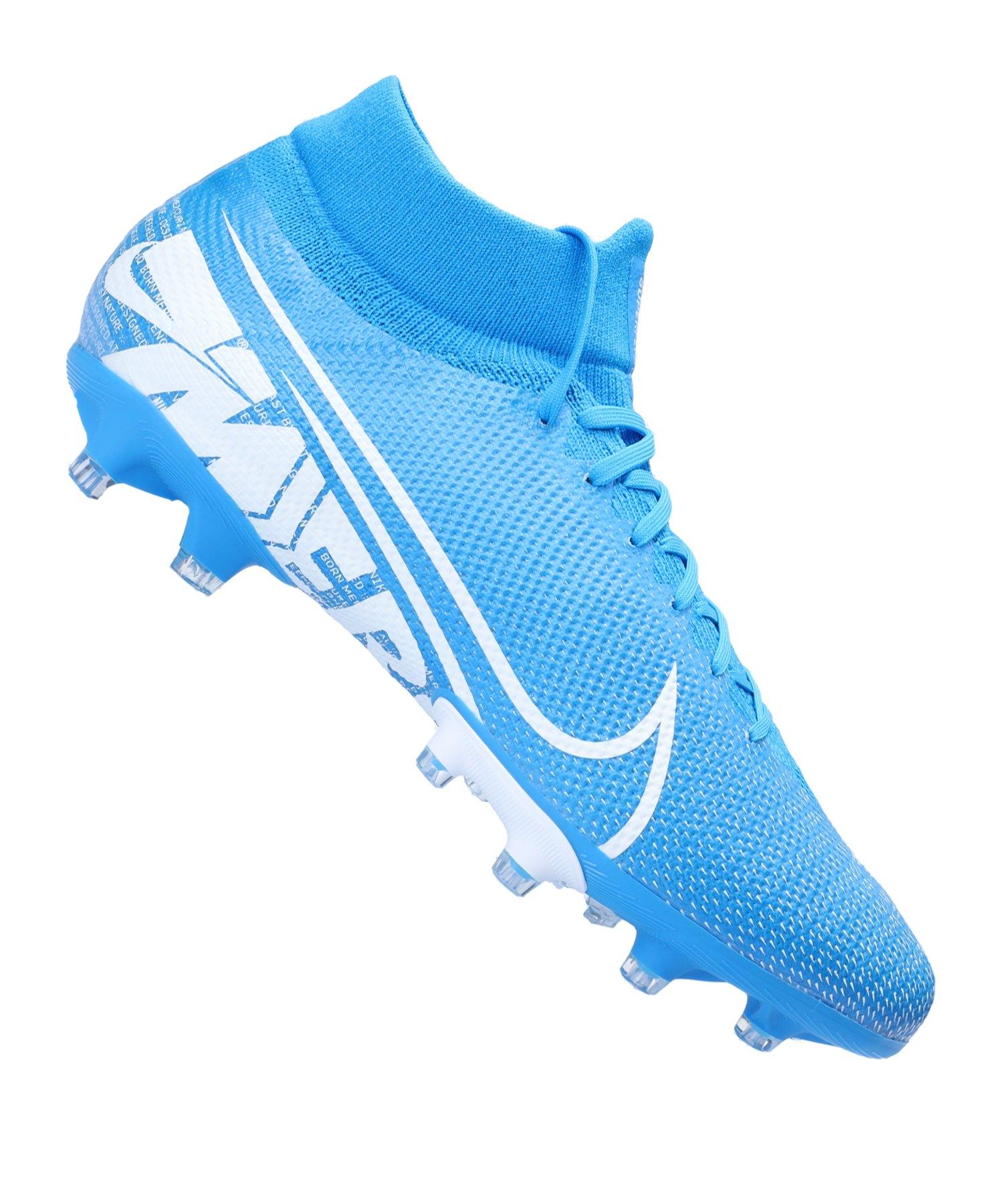 Nike Mercurial Superfly VII Pro AG-Pro Blau F414 - blau