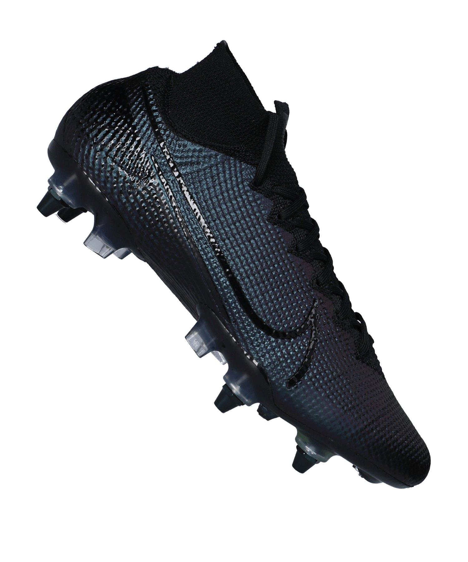 Nike Mercurial Superfly VII Elite SG-Pro AC F010 - schwarz