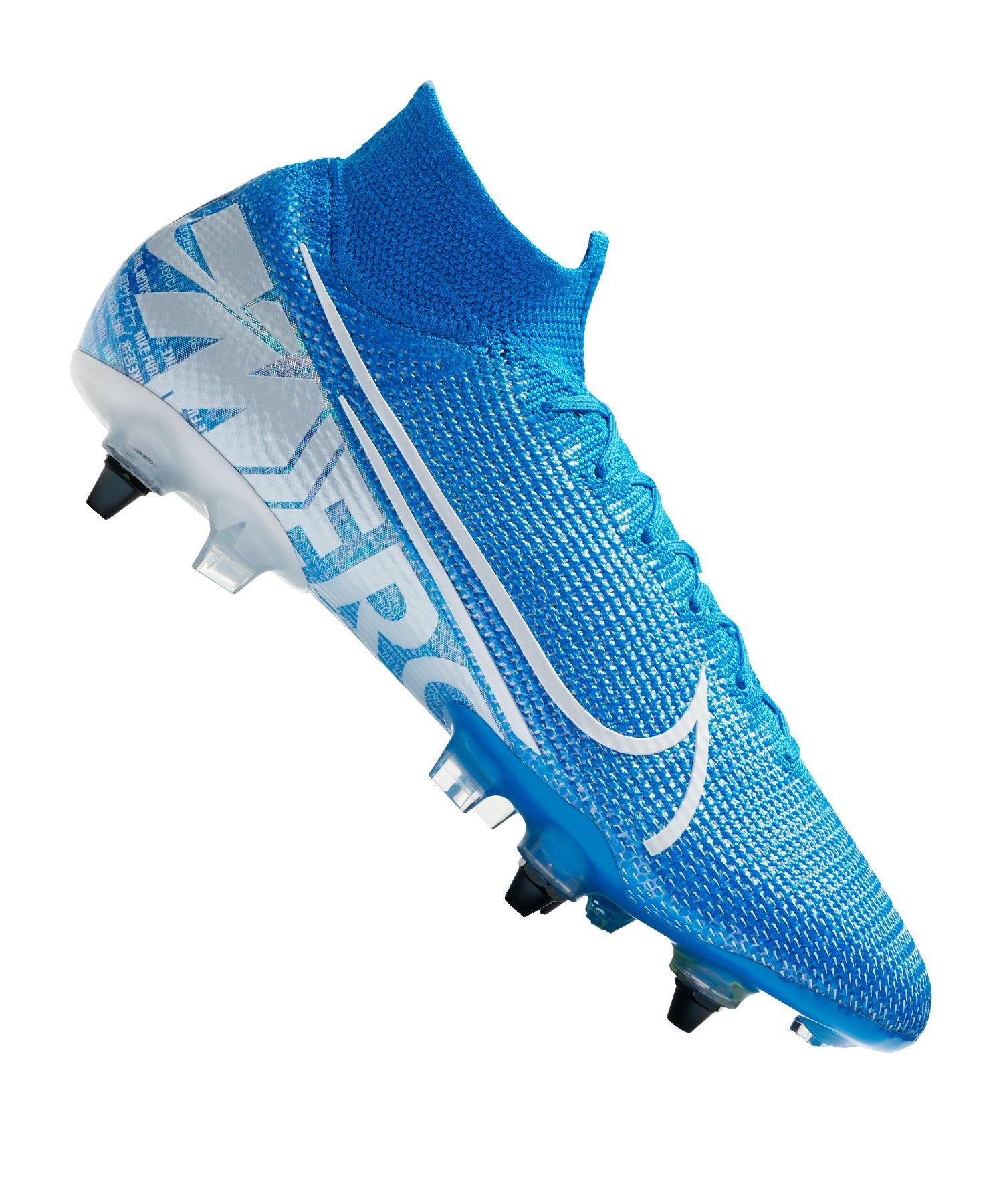 Nike Mercurial Superfly VII Elite SG-Pro AC F414 - blau