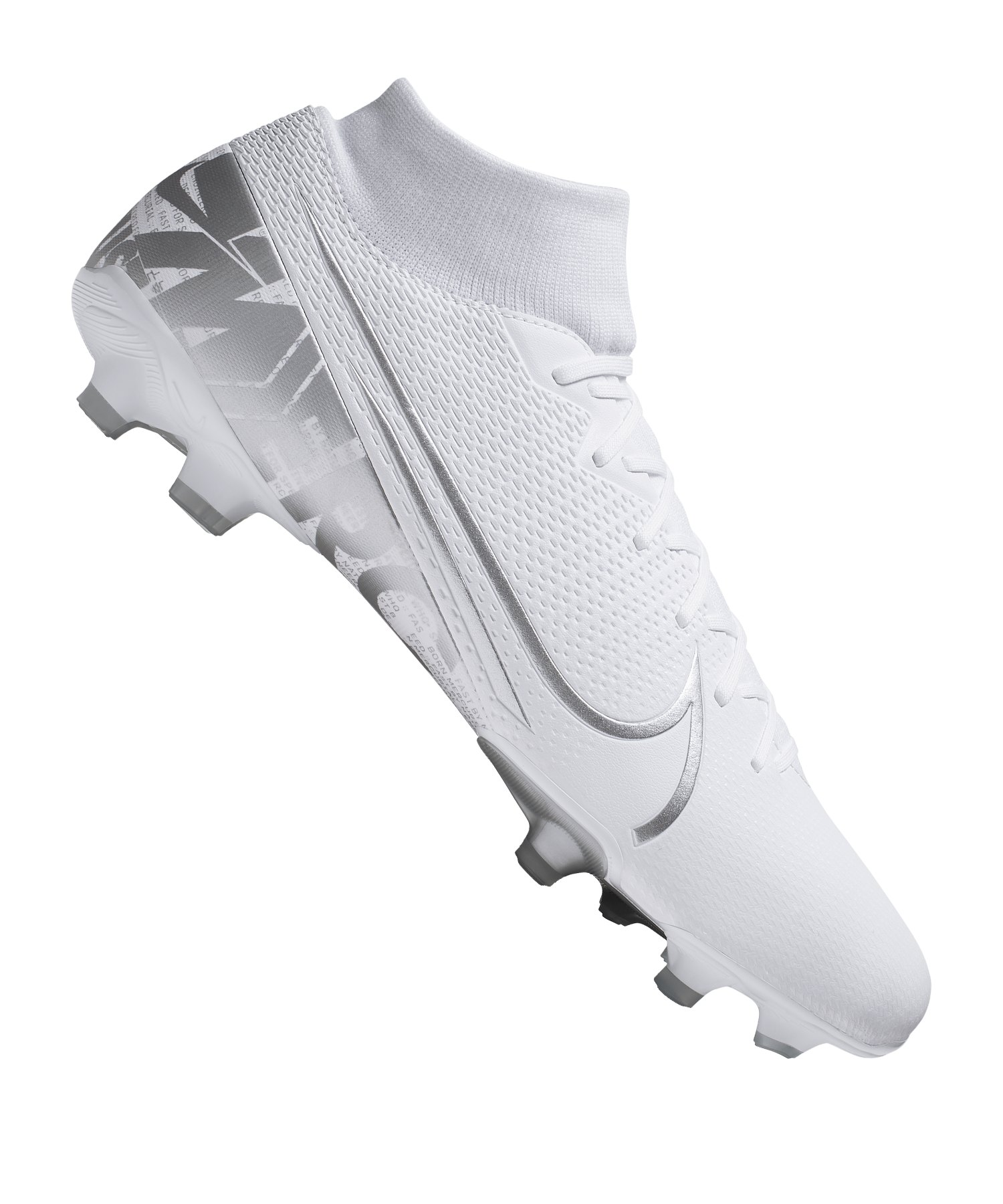 Nike Mercurial Superfly VII Academy FG/MG F100 - weiss