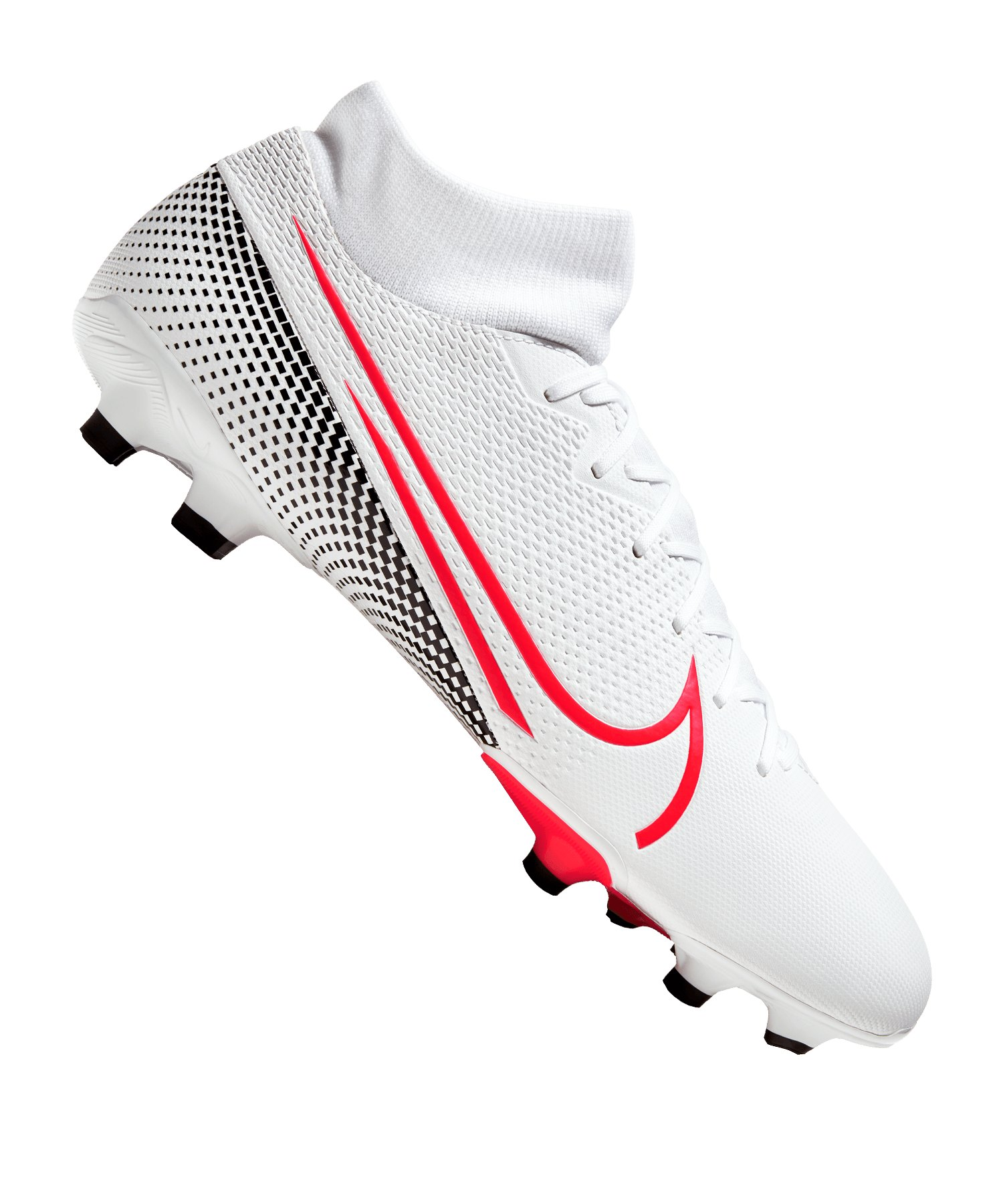Nike Mercurial Superfly VII Future Lab II Academy FG/MG Weiss F160 - weiss
