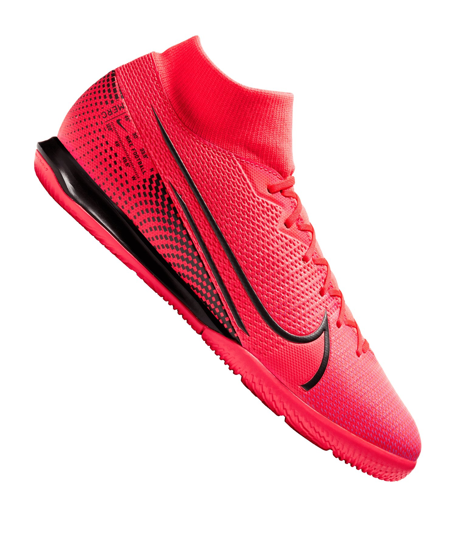 Nike Mercurial Superfly VII Academy IC Rot F606 - rot