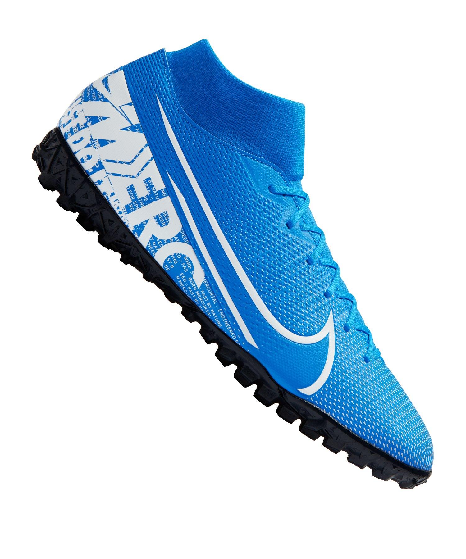 Nike Mercurial Superfly VII Academy TF Blau F414 - blau