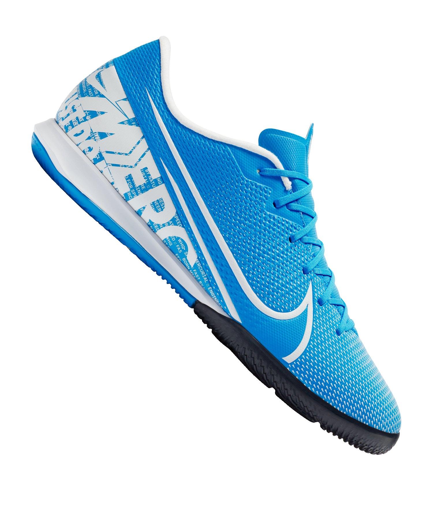 Nike Mercurial Vapor XIII Academy IC Blau F414 - blau