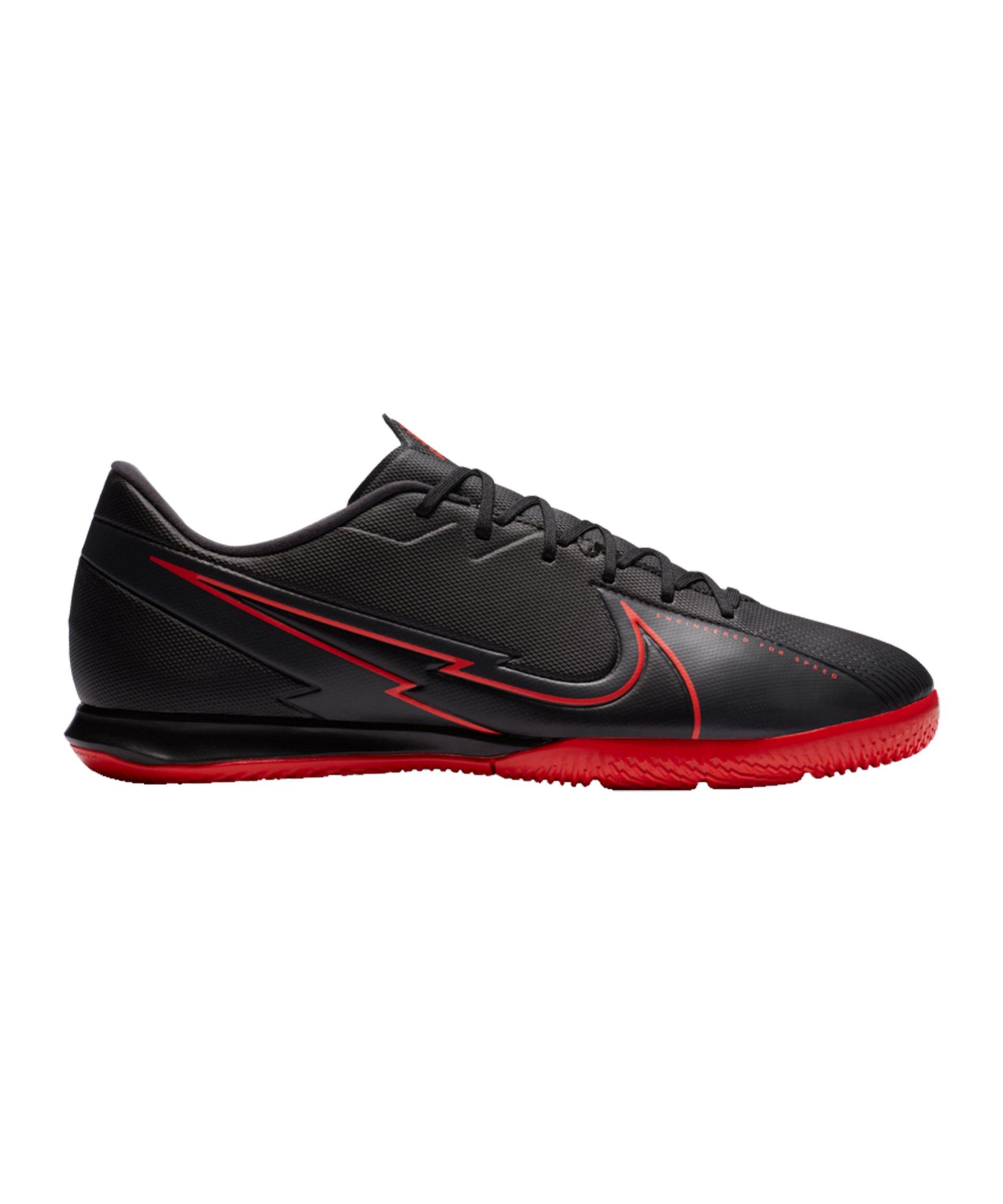 Nike Mercurial Vapor XIII Black X Chile Red Academy IC Schwarz F060 - schwarz