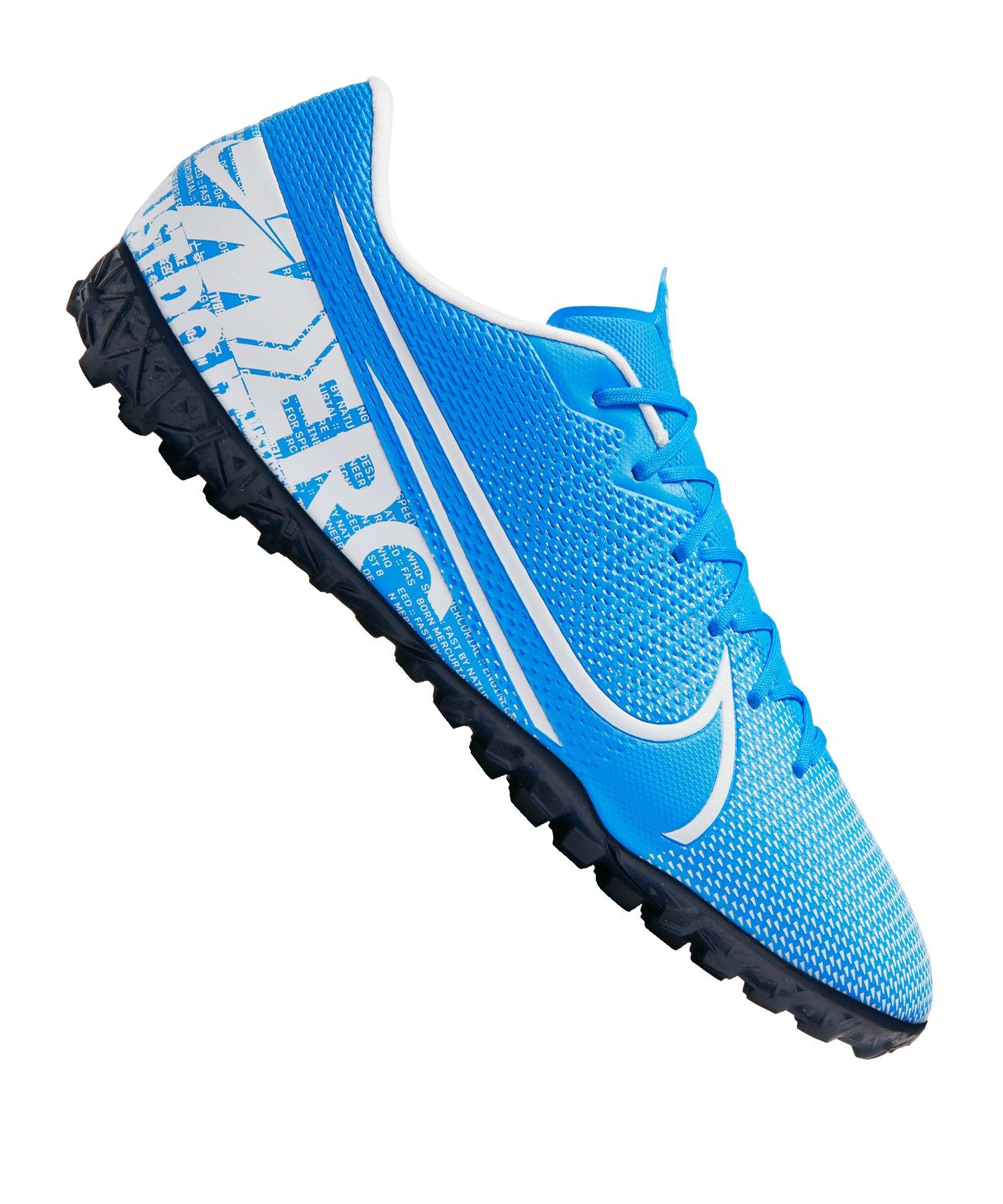 Nike Mercurial Vapor XIII Academy TF Blau F414 - blau