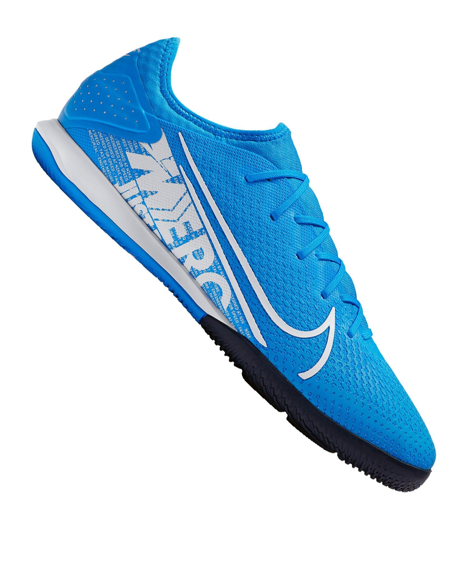 Nike Mercurial Vapor XIII Pro IC Blau Weiss F414 - blau