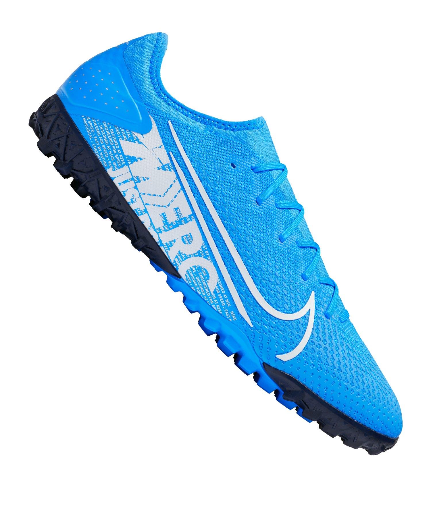 Nike Mercurial Vapor XIII Pro TF Blau Weiss F414