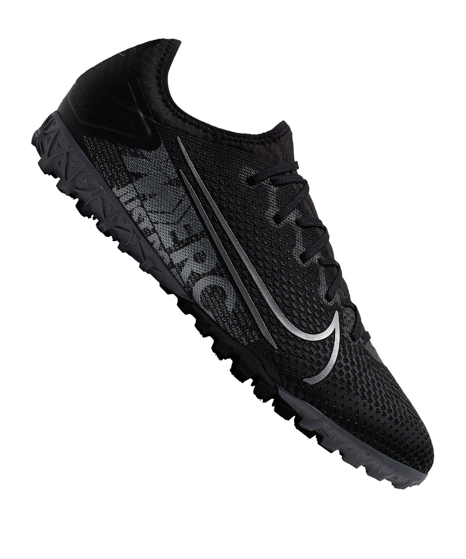 Nike Mercurial Vapor XIII Pro TF Schwarz F001 - schwarz