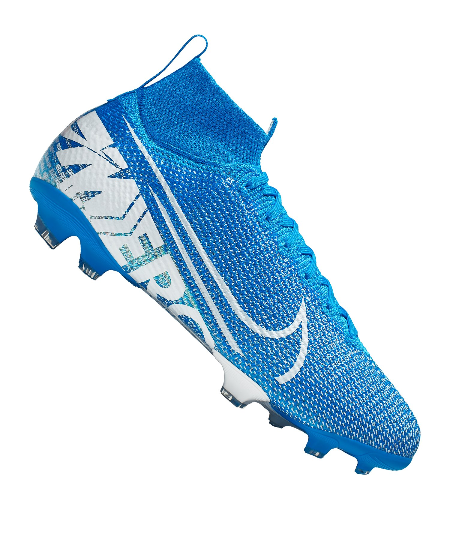Nike Jr Mercurial Superfly VII Elite FG Kids F414 - blau