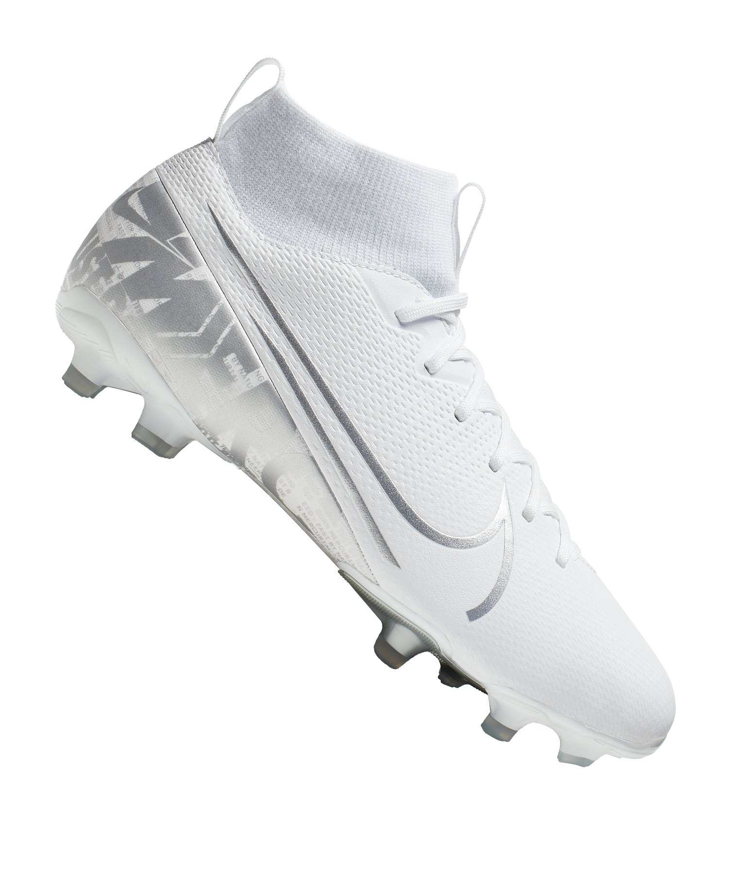 Nike Jr Mercurial Superfly VII Academy FG/MG Kids F100 - weiss
