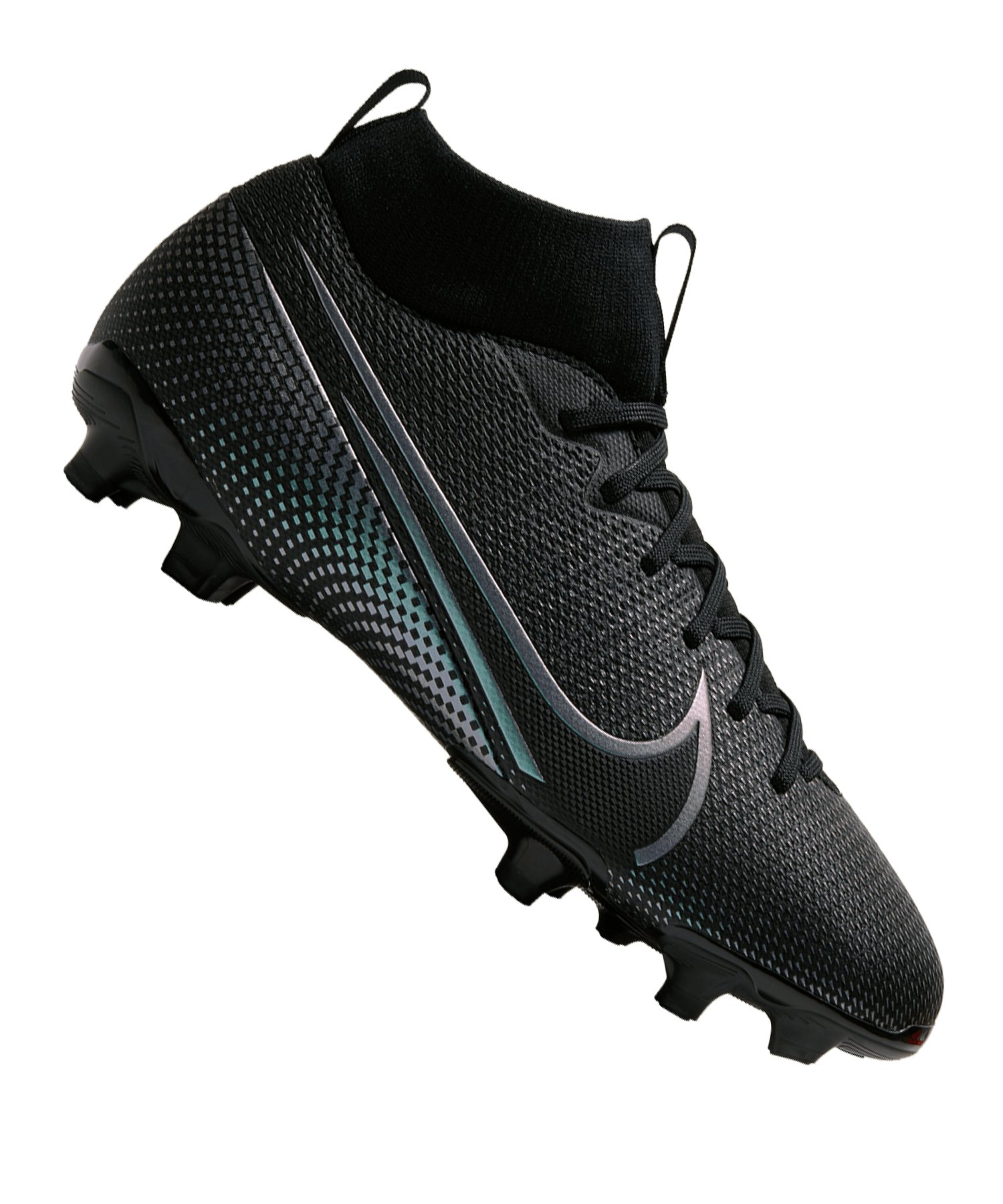 Nike Jr Mercurial Superfly VII Academy MG Kids F010 - schwarz