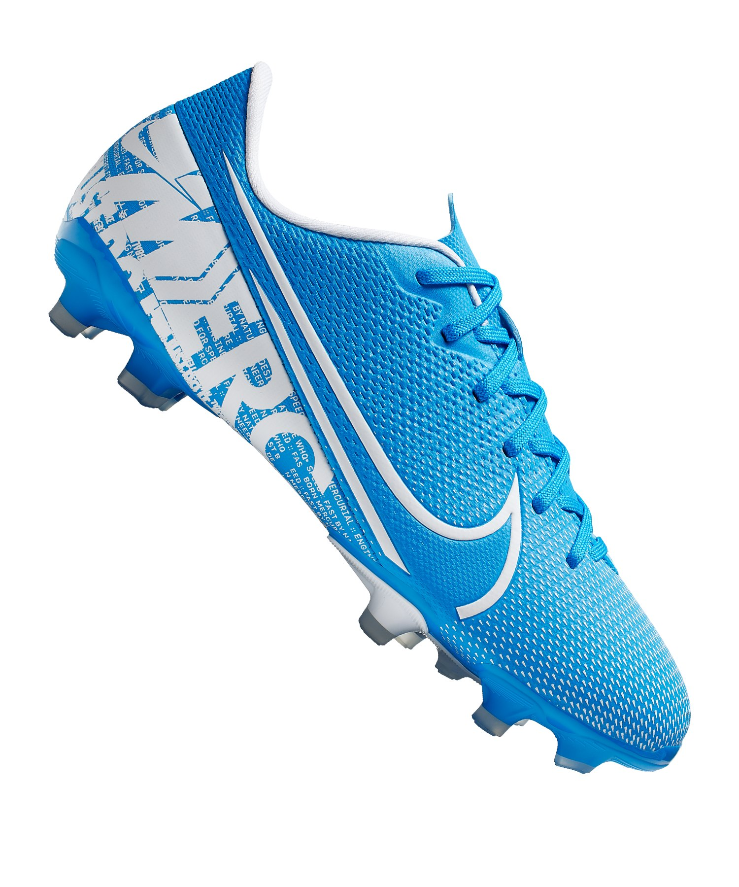 Nike Mercurial Vapor XIII Academy FG/MG Kids F414 - blau