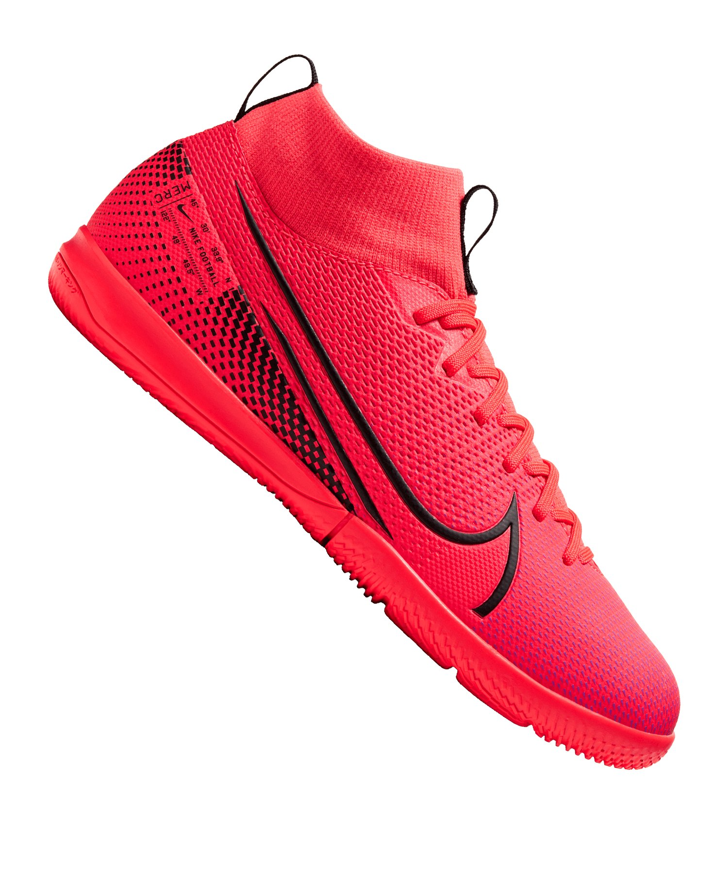 Nike Jr Mercurial Superfly VII Academy IC Kids F606 - rot
