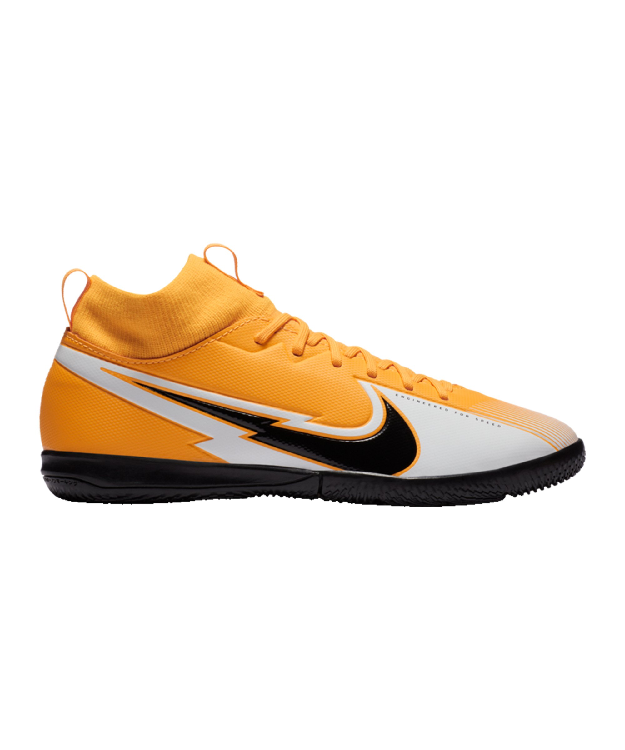 Nike Jr Mercurial Superfly VII Daybreak Academy IC Kids Orange F801 - orange
