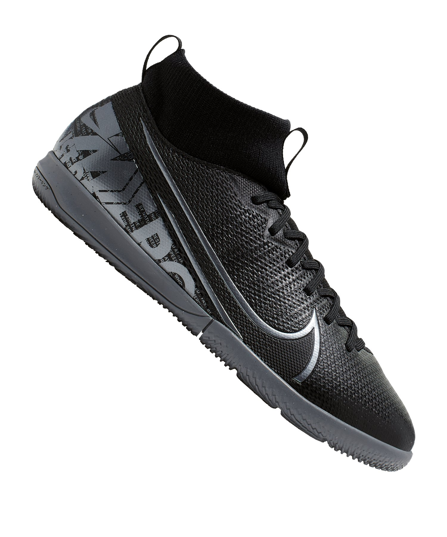 Nike Mercurial Superfly VII Academy IC Kids F001 - schwarz