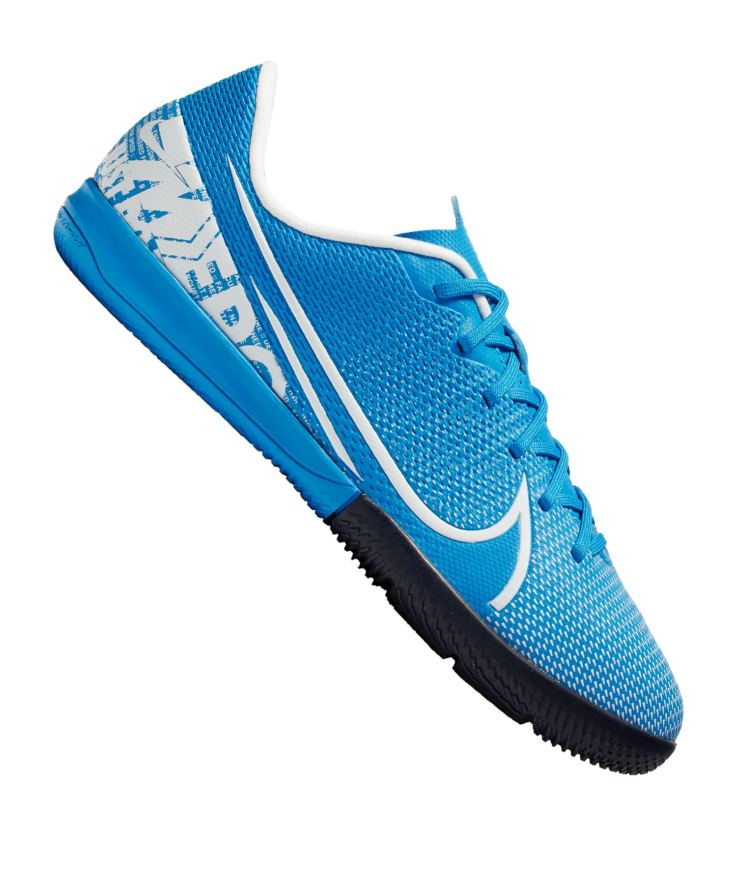 Nike Jr Mercurial Vapor XIII Academy IC Kids F414 - blau