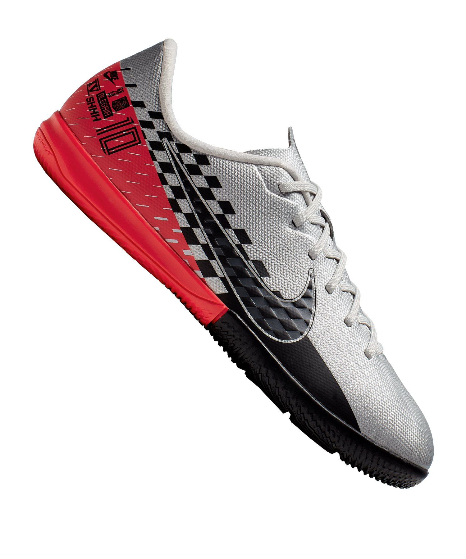 Nike Mercurial Vapor XIII Academy NJR IC Kids F006 - silber