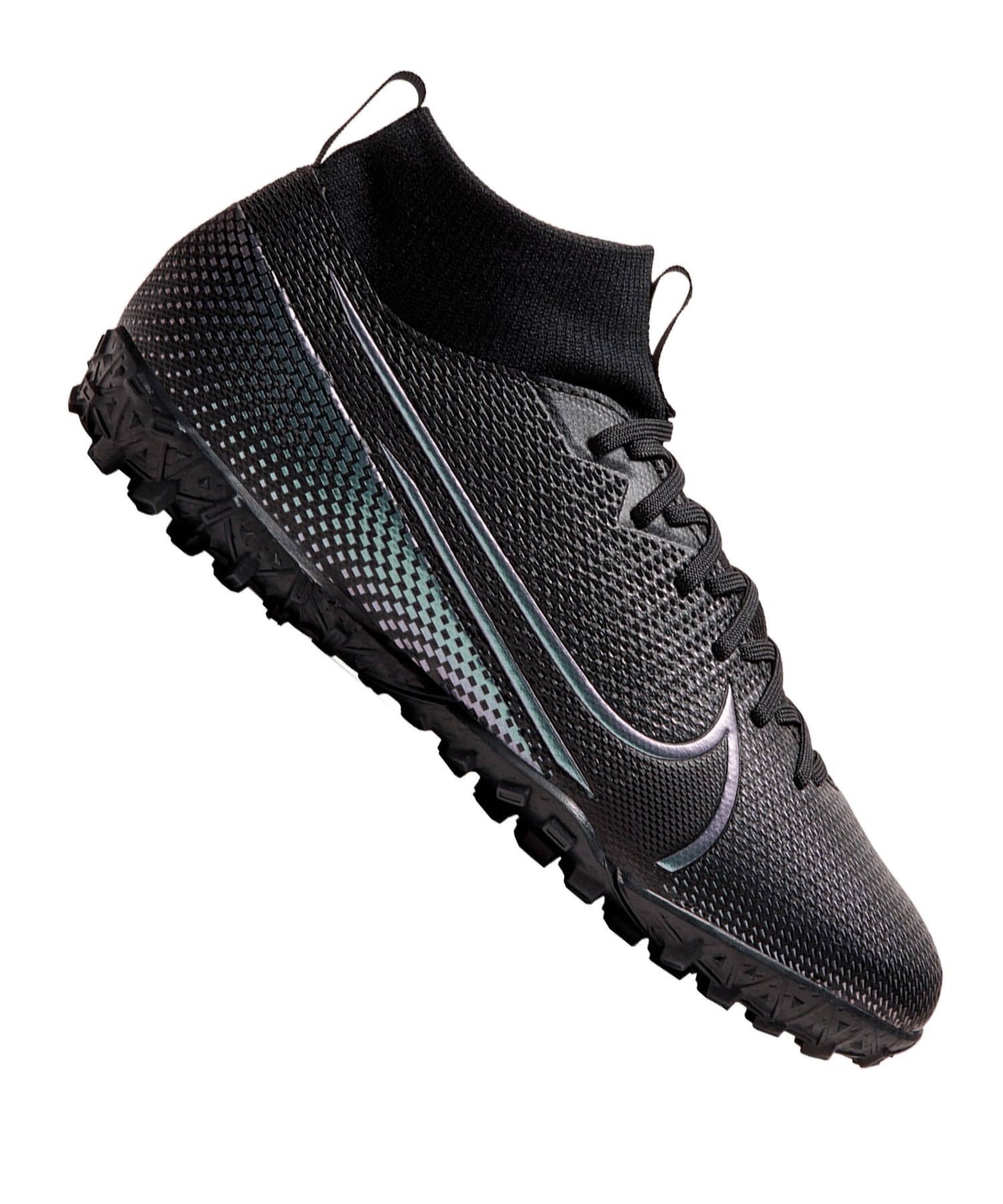 Nike Jr Mercurial Superfly VII Academy TF Kids F010 - schwarz