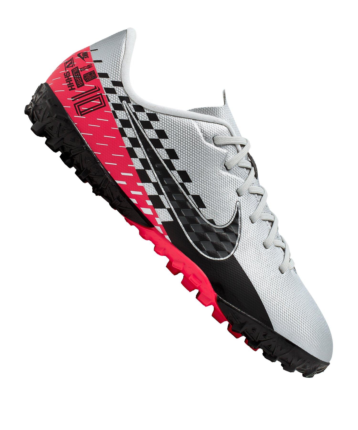 Nike Mercurial Vapor XIII Academy NJR TF Kids F006 - silber