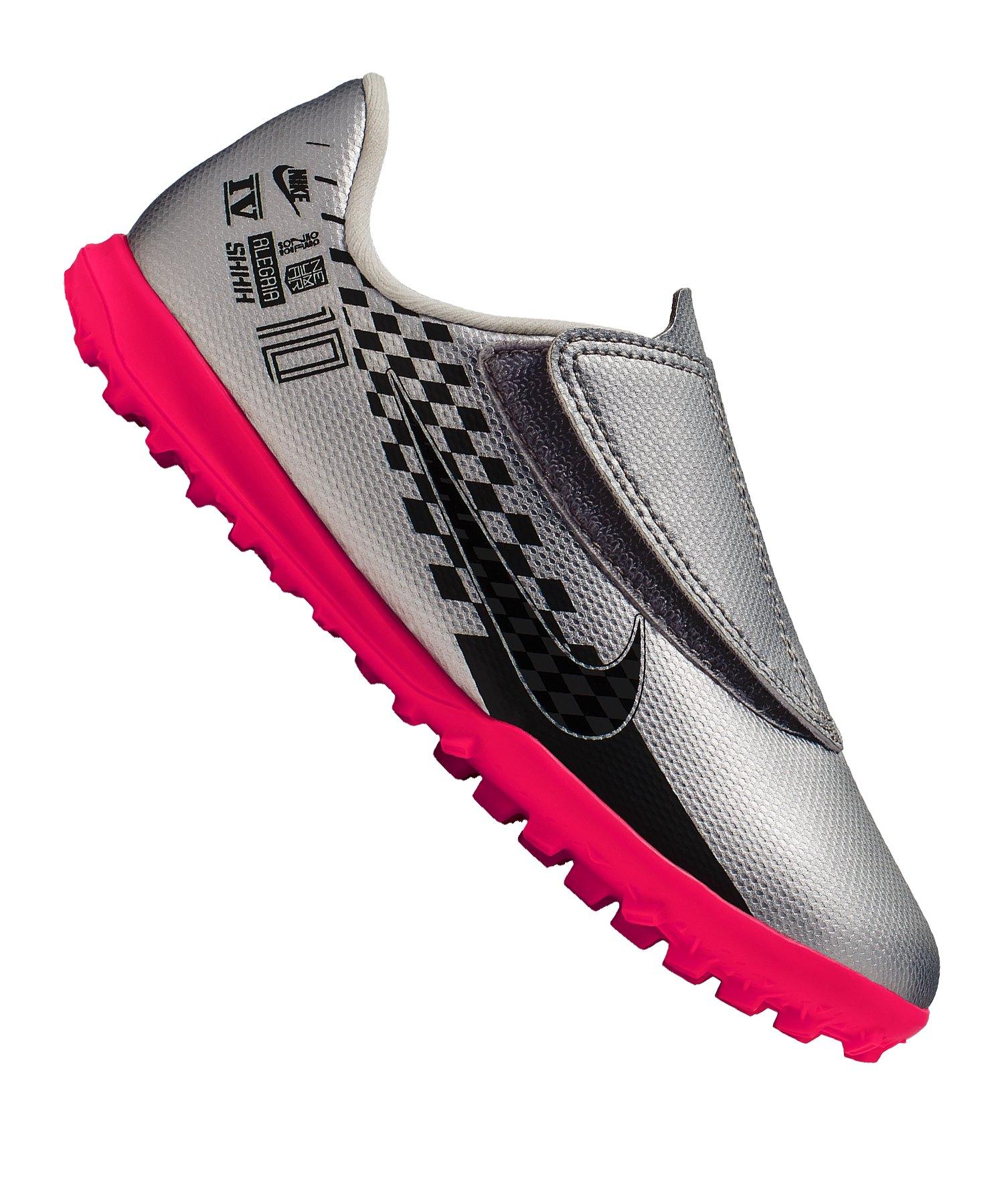 Nike Mercurial Vapor XIII Club NJR TF PS Kids F006 - silber