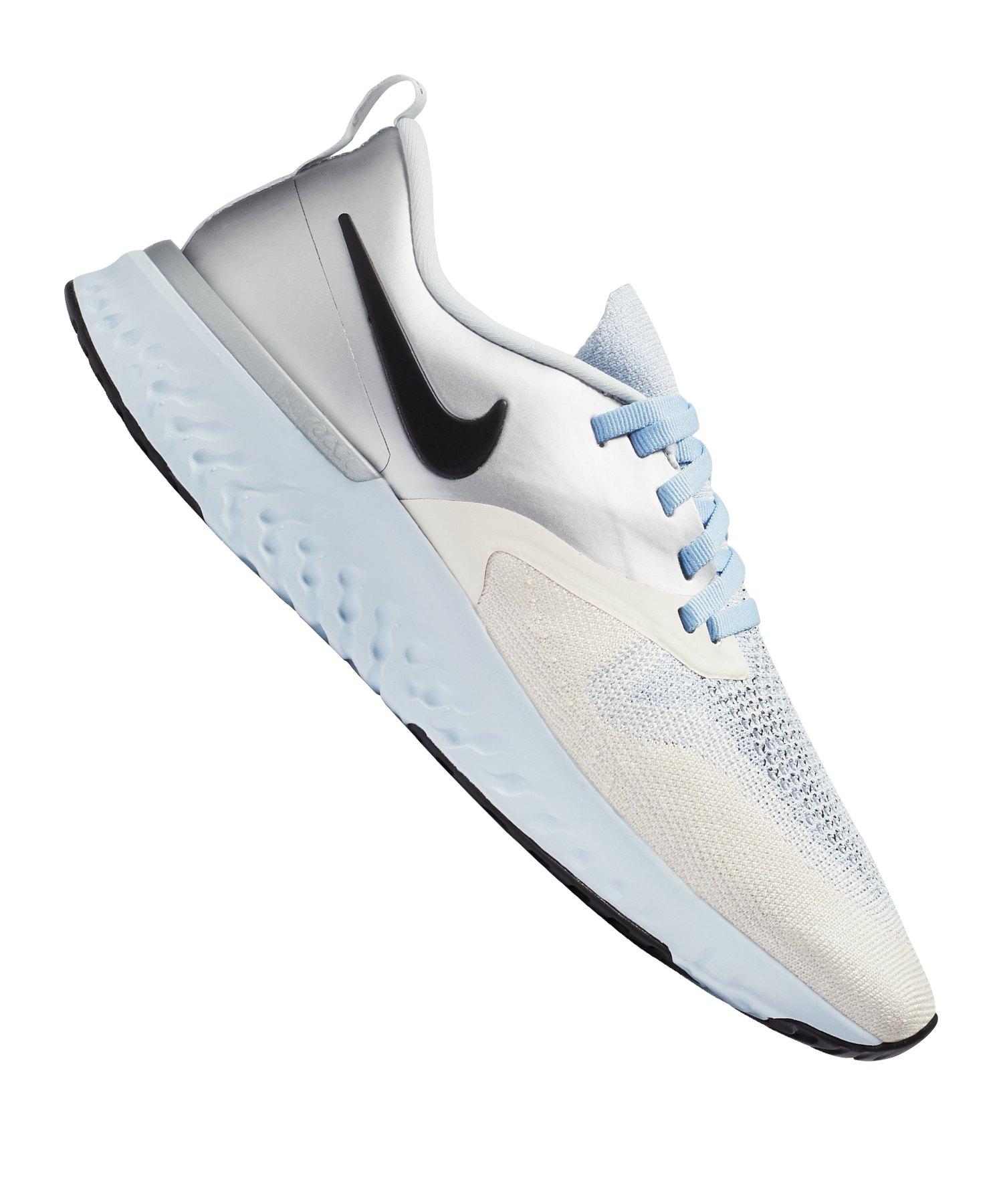 Nike Odyssey React 2 Flyknit Running Damen F001 - silber