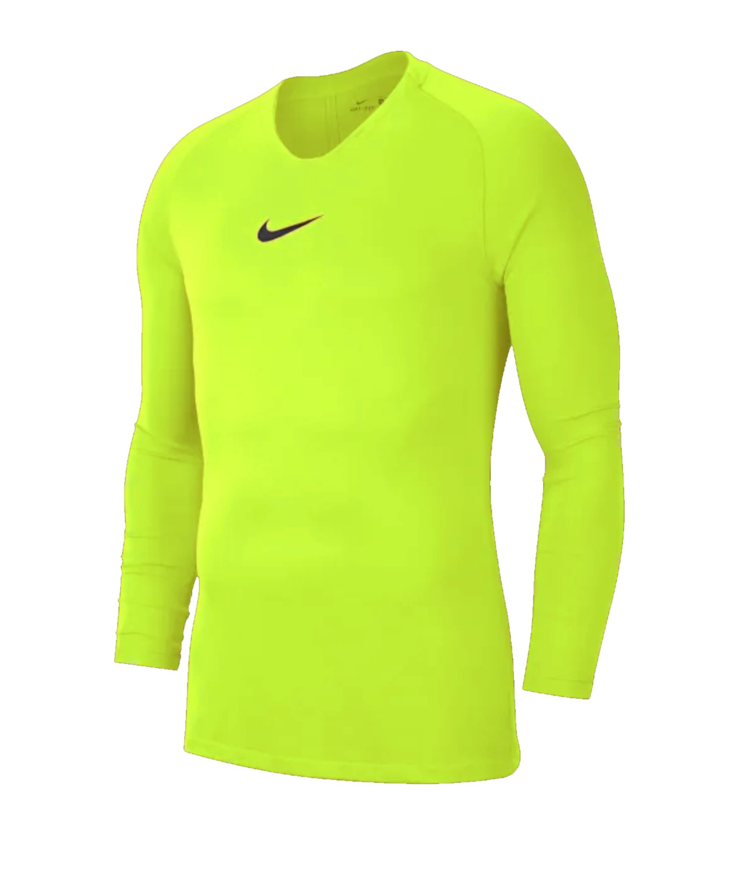 Nike Park First Layer Top langarm Gelb F702 - gelb